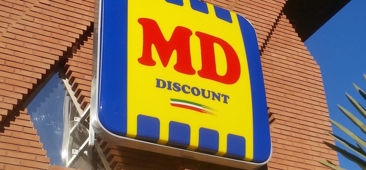 Insegna MD Discount